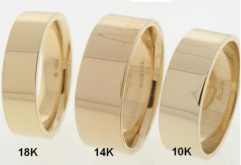10 14 18k rings